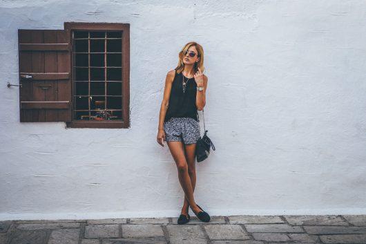 夏のファッション